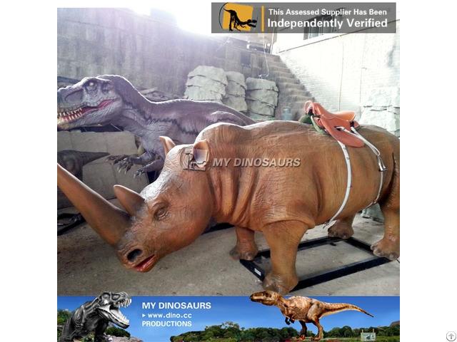 My Dino Amusement Park Realistic Mechanical Walking Animal Ride