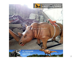 My Dino Amusement Park Realistic Mechanical Walking Animal Ride