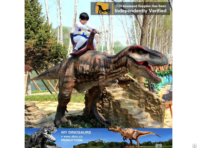 My Dino Outdoor Amusement Park Walking Dinosaur Ride