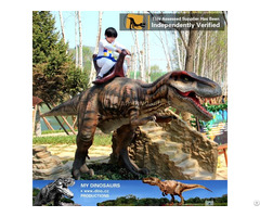 My Dino Outdoor Amusement Park Walking Dinosaur Ride