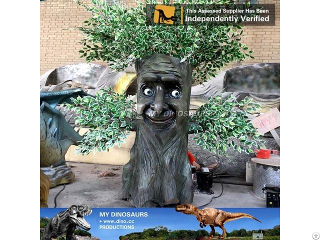 My Dino Life Size Animatronic Talking Tree
