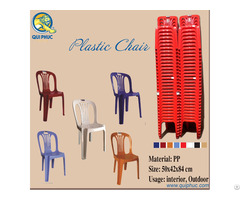 Plastic Chairs Backrest Qui Phuc Vietnam