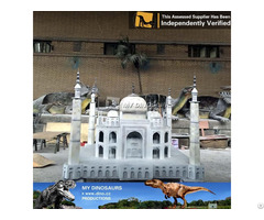My Dino Mini World Fiberglass Miniature Taj Mahal