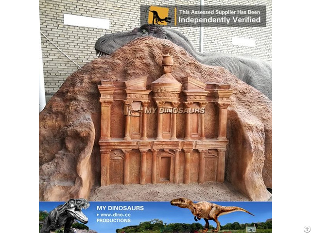 My Dino World Mini Famous Building Petra Door