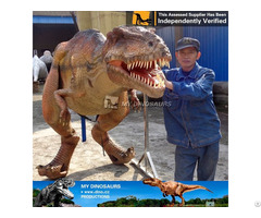 My Dino Lifelike Adult Dinosaur Costume
