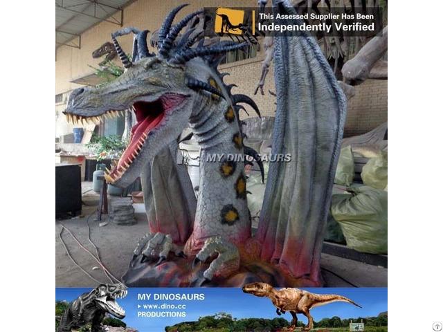 Mydino Animatronic Dragon Statue