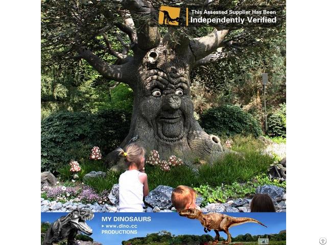 My Dino Outdoor Kids Playground Realistic Animatronic Talking Tree