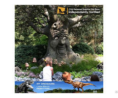 My Dino Outdoor Kids Playground Realistic Animatronic Talking Tree