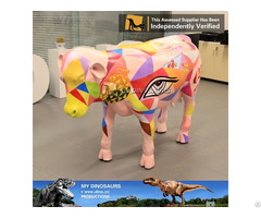 My Dino Life Size Cow Statue