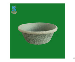 Paper Pulp Molded Eco Friendly Nursery Pots Planters