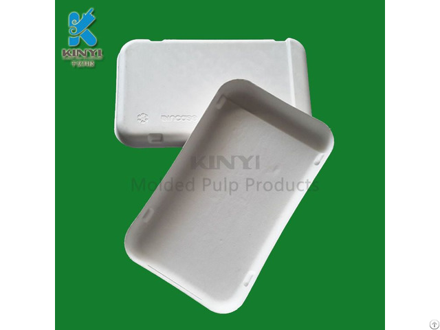 Hot Sale Bagasse Pulp Molded Mobile Phone Case Packaging