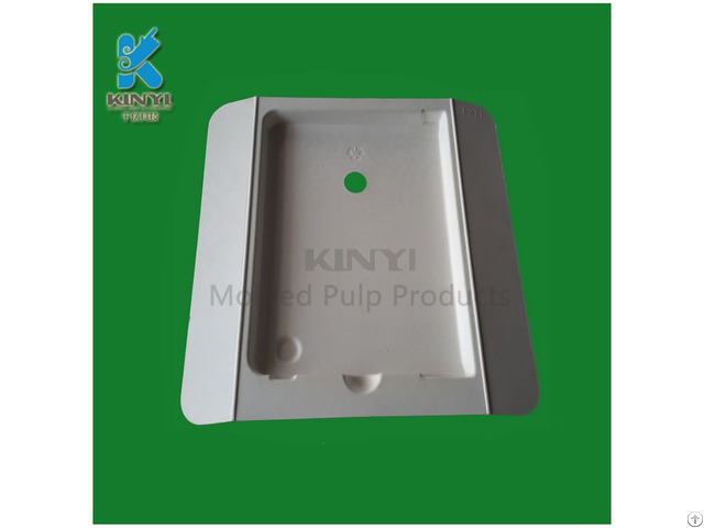 Newest Eco Friendly Paper Pulp Molded Mobile Phone Case Packaging Tray