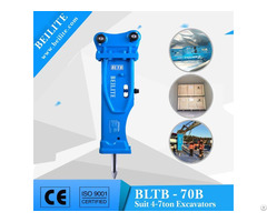Bltb70 Silenced Type Hydraulic Hammer Breaker For Excavator