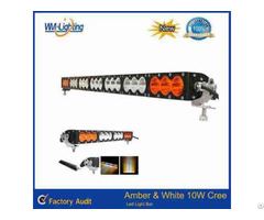 Multi Color 22inch 120w Amber Led Light 4x4