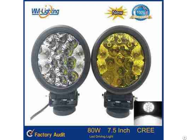 Super Bright 80w Led Driving Light