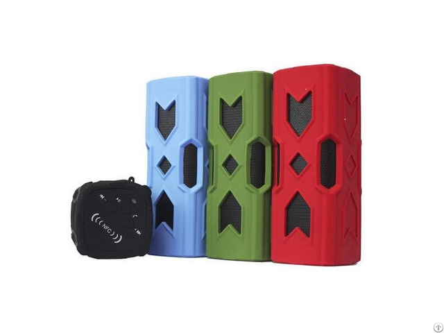 Rugged Outdoor Mini Bluetooth Speaker With Phone Charging Function