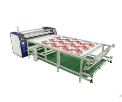 Rotary Large Format Rosin Tech Sublimation Heat Press Transfer Machine For Sportswear Printing