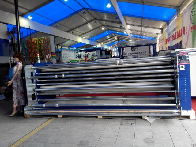 Large Format Bed Sheet Curtain Wall Cloth Heat Press Sublimation Printing Machine