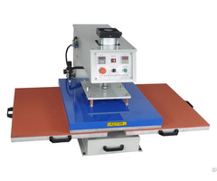 Dual Double Sided Heating Plate Heat Press Transfer Sublimation Machine For Tshirt Diy Printing