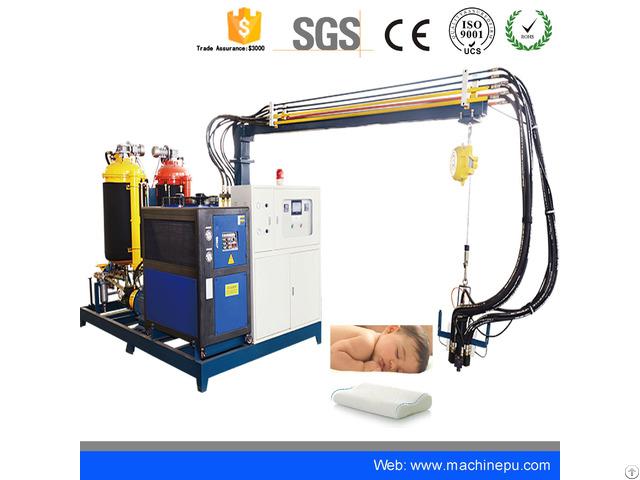 High Pressure Pu Polyurethane Pipe Insulation Moulding Foam Machine