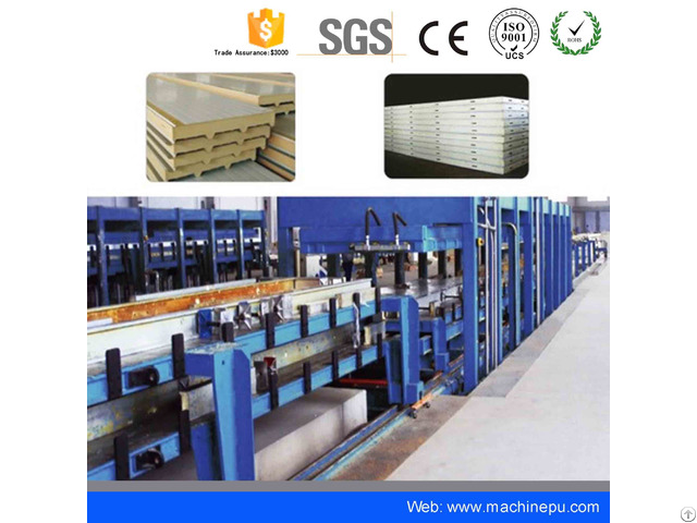 Cold Room Insulation Pu Production Line