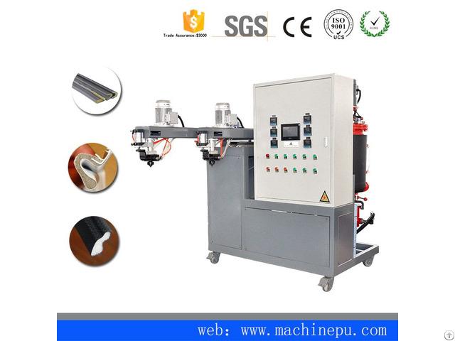 Pu Polyurethane Foam Casting Machine For Cladding Type Sealing Strip