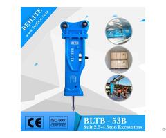 Bltb53b Silenced Hydraulic Hammer For Mini Excavator