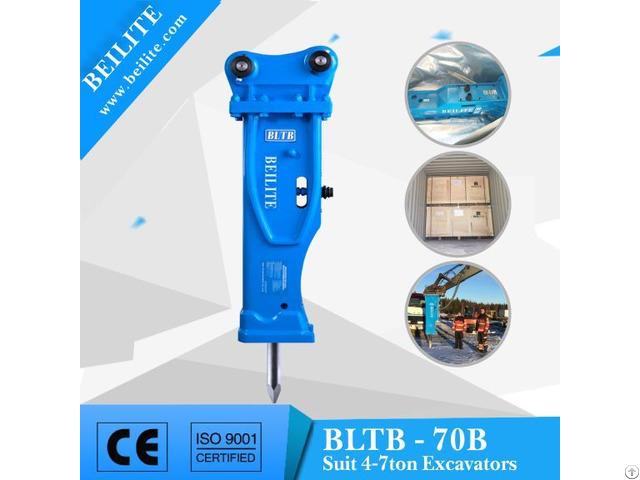 Bltb70b Low Noise Mini Excavator Hydraulic Breaker