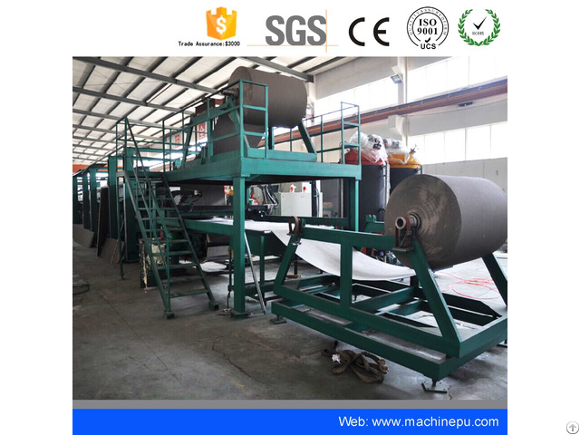China Pu Forming Machine Polyurethane Continuous Sandwich Panel Production Line