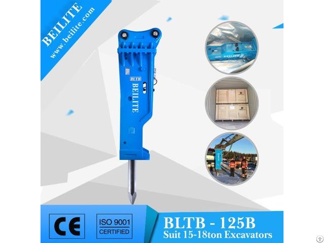 Bltb 125b Silenced Hydraulic Hammer For 15 18 Ton Excavator