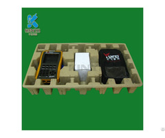 Wholesale Paper Pulp Molded Electrionic Shipping Packaging Tray Container