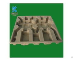 Eco Friendly Molded Pulp Products Packaging Tray Container Box