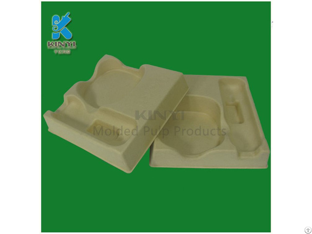 Hot Sale Paper Pulp Molded Electronic Packaging Tray Box