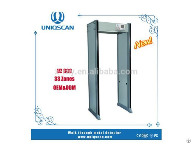 Security Check Walk Through Metal Detector Uz800