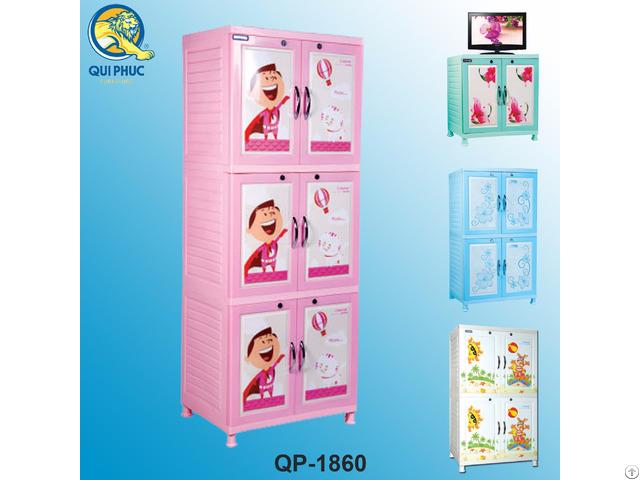 Plastic Clothes Cabinet For Child Vietnam