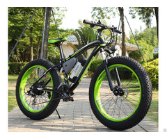 Electric Snow Fat Tire Bike