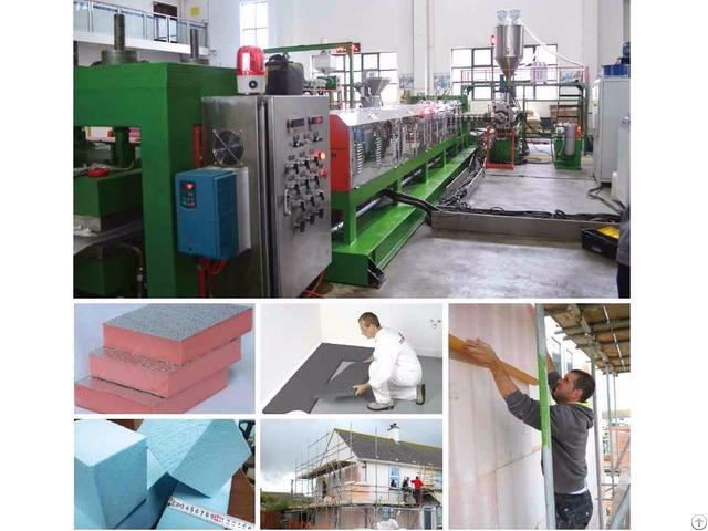 Co2 Xps Foam Board Production Line