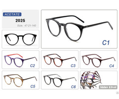 Latest Trends Cat Eye Shape Italy Designer Eyewear Frames
