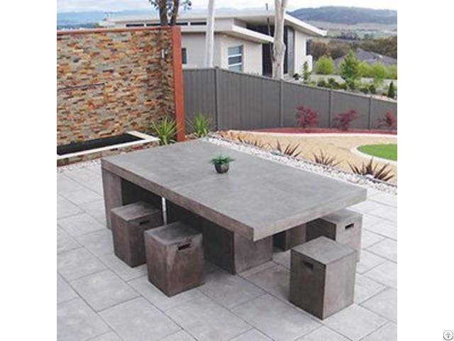 Concrete Furniture Urban Rectangle Coffee Table