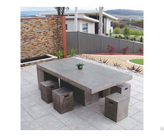Concrete Furniture Urban Rectangle Coffee Table