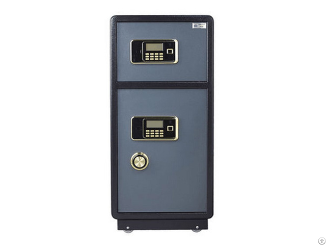 Double Safe Deposit Box