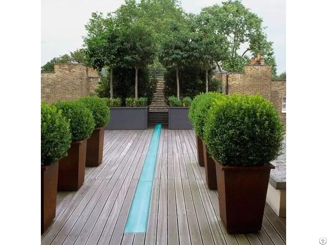 Garden Landscape Cement Planters And Flower Pots