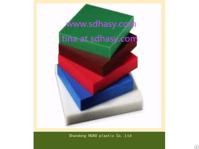 Hard And Durable Uhmwpe Plastic Sheet