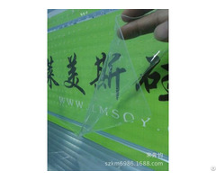 Milky White Silicone Coated Release Transparent Clear Pet Film