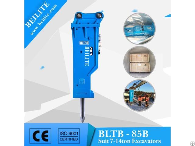 Bltb85 85mm Chisel Hydraulic Hammer For 7 14ton Excavator