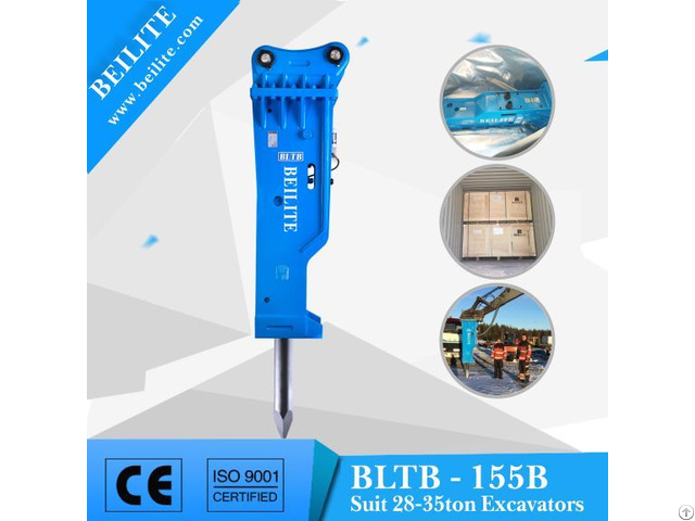 Bltb155 Side Type Hydraulic Hammer For Excavator