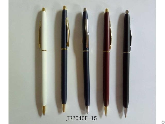 Slim Hotel Pen Jf2040f-15 Parker Refill Ball Point