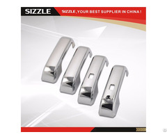 Abs Plastic Chrome Door Handle Cover For Ford 2016 F150 F 150 Limited No Pskh With Smartkey Hole