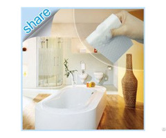 Hot Safe Material Magic Foam Sponge Eraser For Bathroom