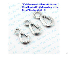 Hot Sale Large Eye Type Safety Latch Crane Hook